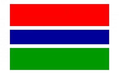 冈比亚国旗